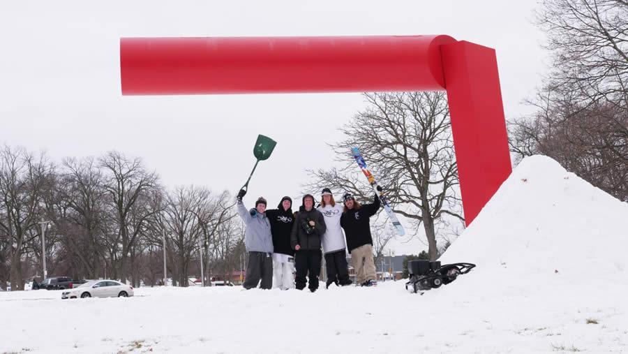 Urban Ski Friends Lupe Hagearty