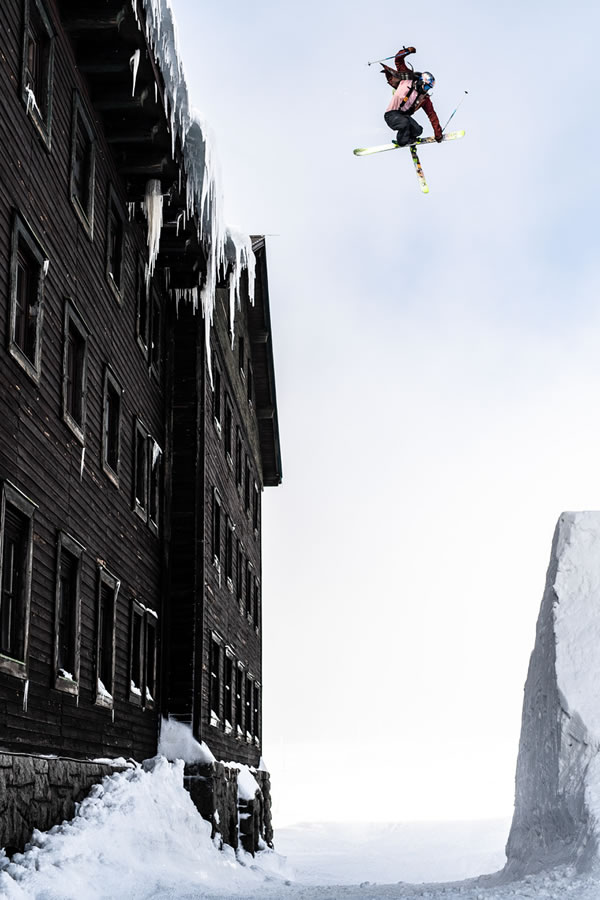 Nick Goepper Ski Jump