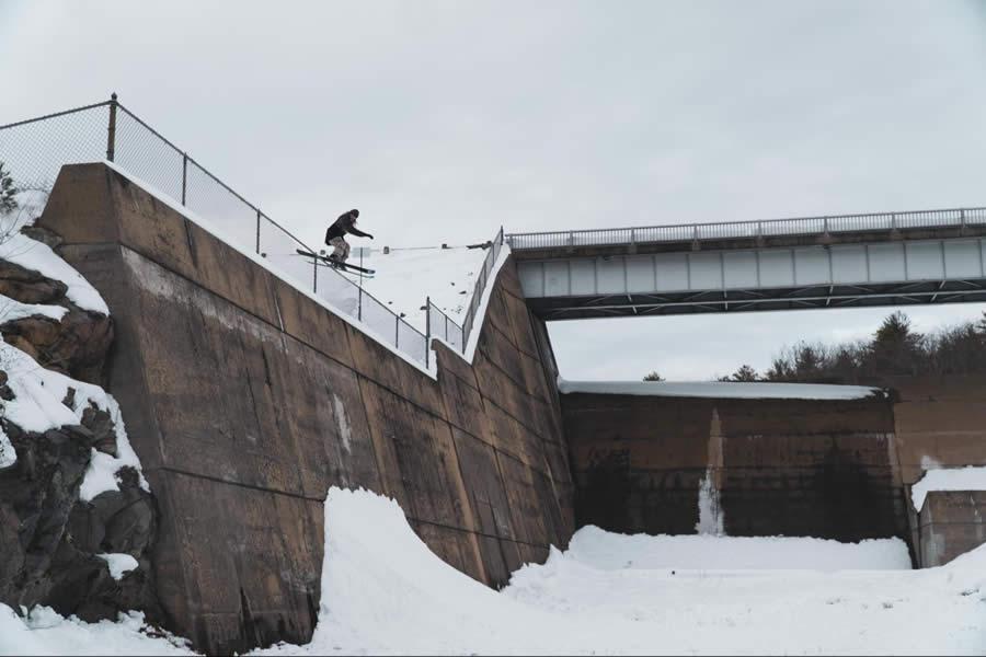 Lupe Hagearty Urban Skiing