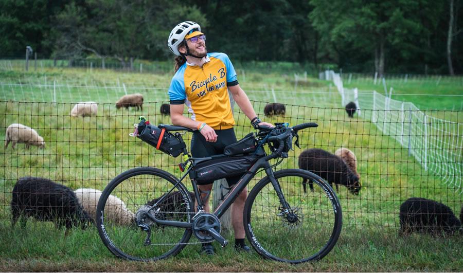 Brendan Walsh Bike Tailgating