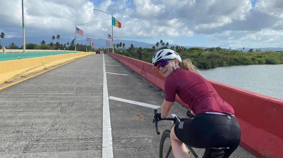 Jill Patterson Bike Ride with Friends